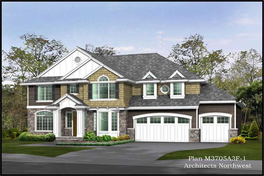 Main image for house plan # 15007
