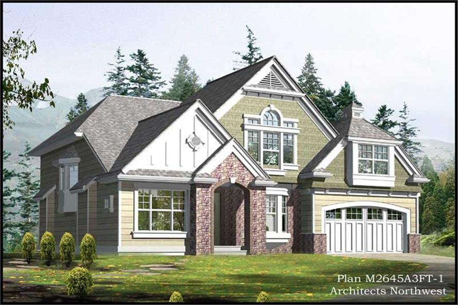 Main image for house plan # 14759