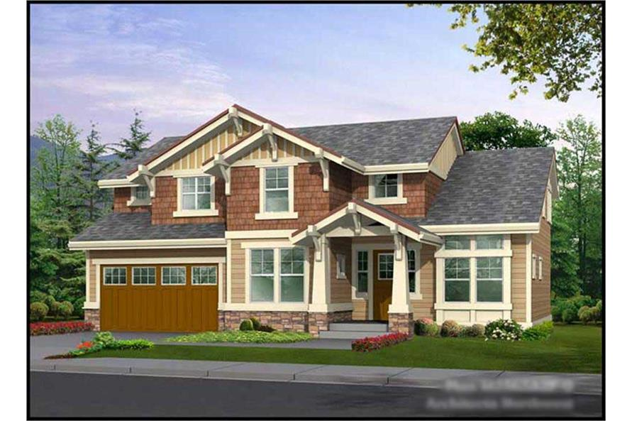 Main image for house plan # 14744