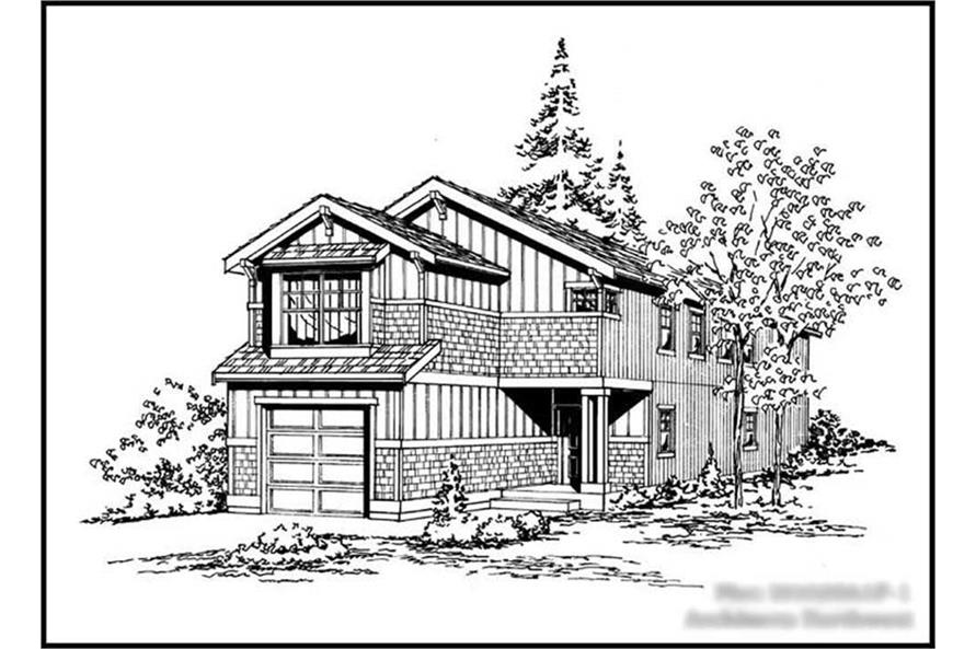 Main image for house plan # 14616