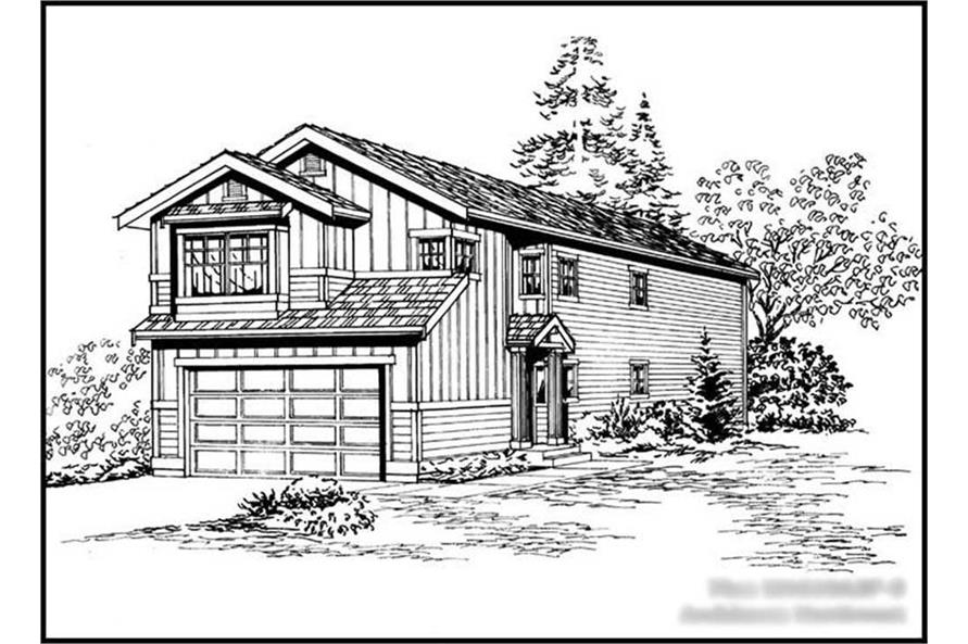 Main image for house plan # 14613