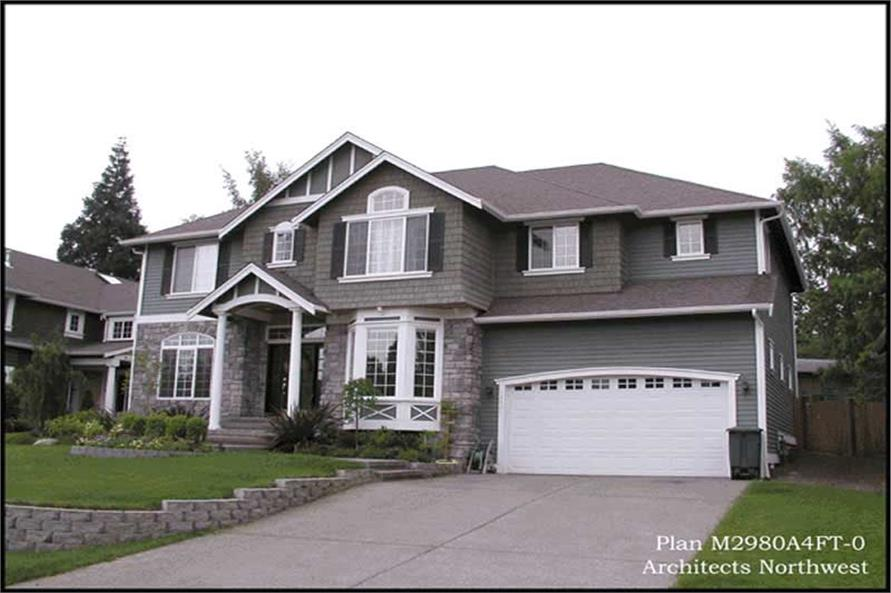 Exterior Photo of this 3-Bedroom,2980 Sq Ft Plan -2980