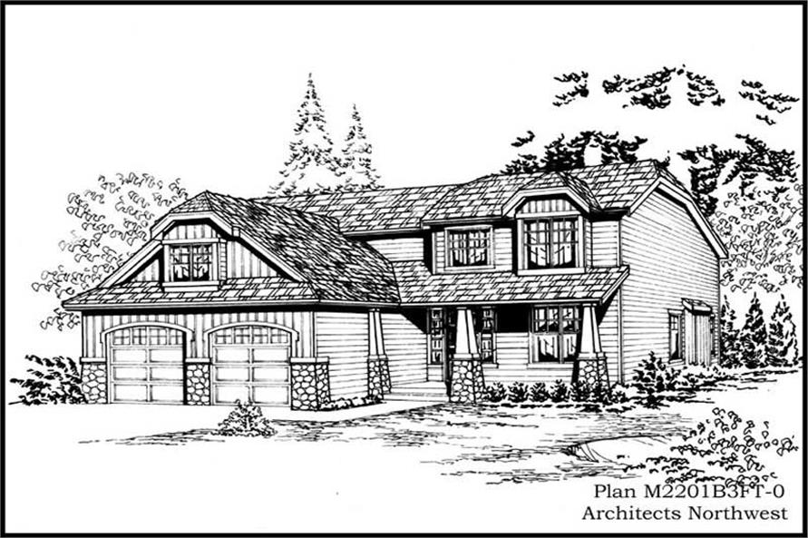 Main image for house plan # 14667