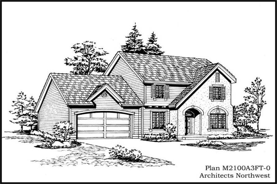 Main image for house plan # 14654