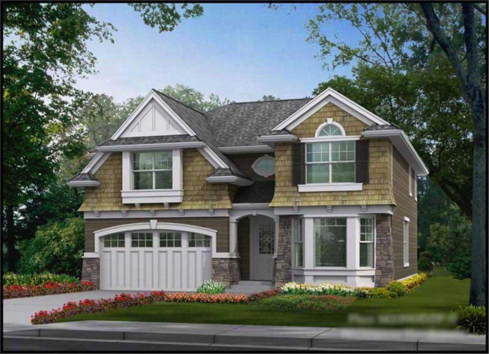 Main image for house plan # 14751