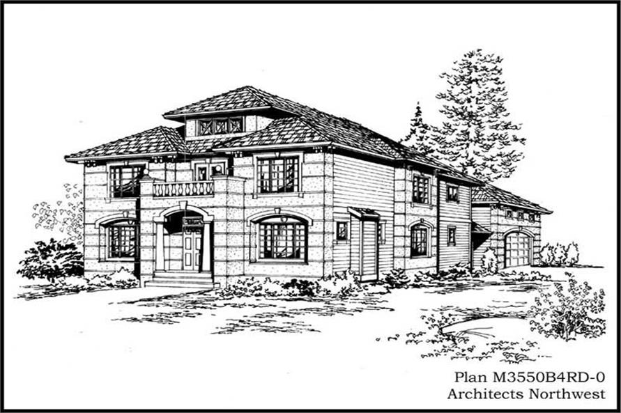 Main image for house plan # 14991