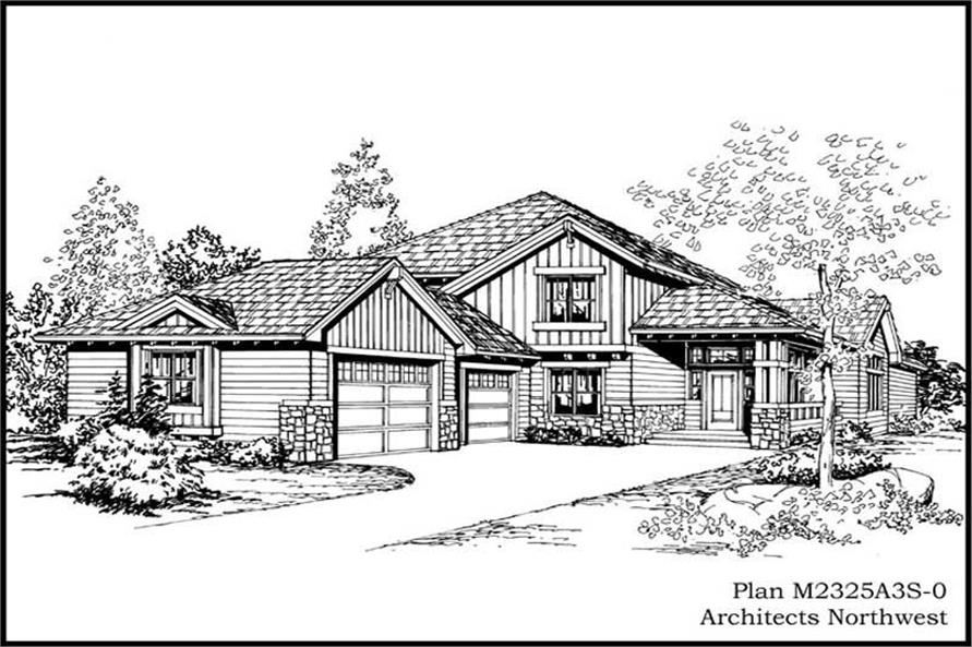 Main image for house plan # 14682