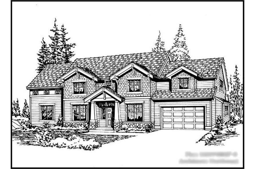 Main image for house plan # 14815