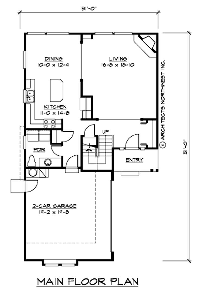 Traditional multi level house plans home design cd m1978a2s 0 14641 for Multi level floor plans