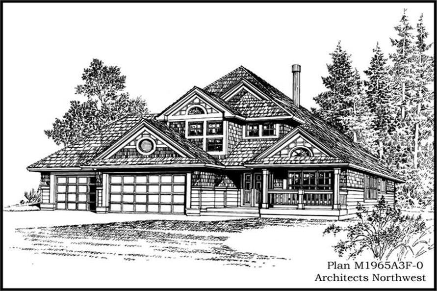 Main image for house plan # 14639