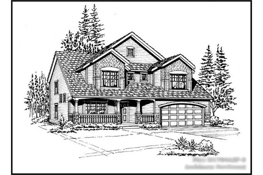 Main image for house plan # 14625