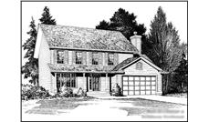 Main image for house plan # 14621