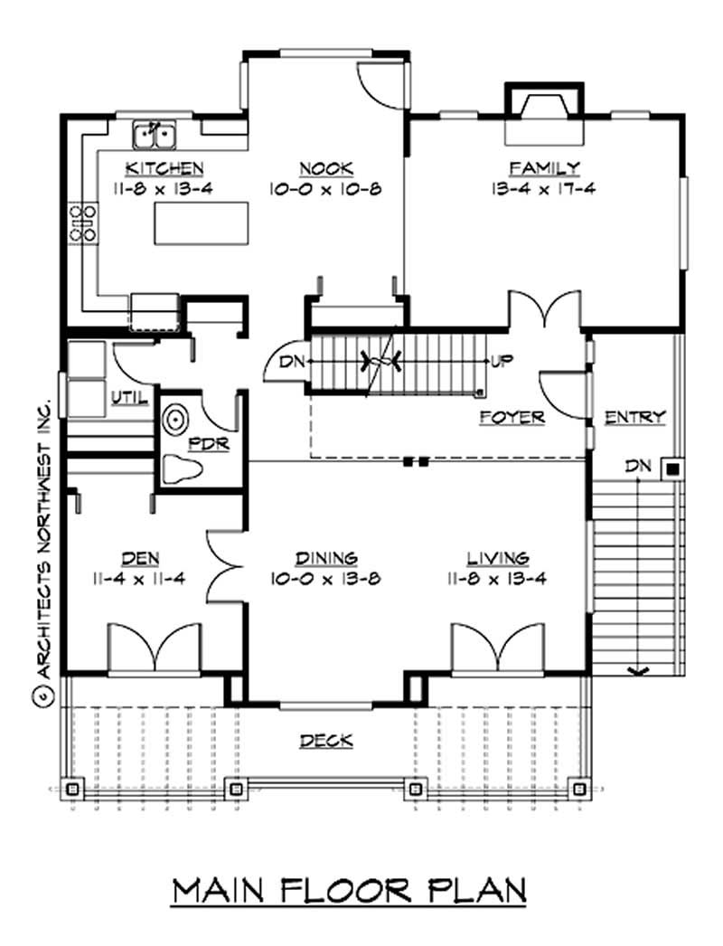 Traditional multi level house plans home design cd for Multi level house plans