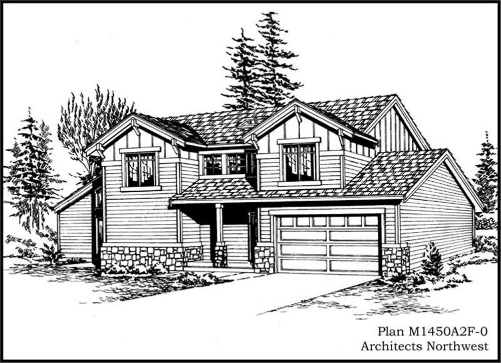 Main image for house plan # 14601