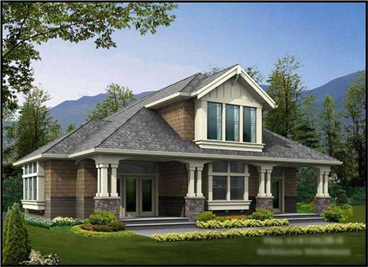 Main image for house plan # 14594