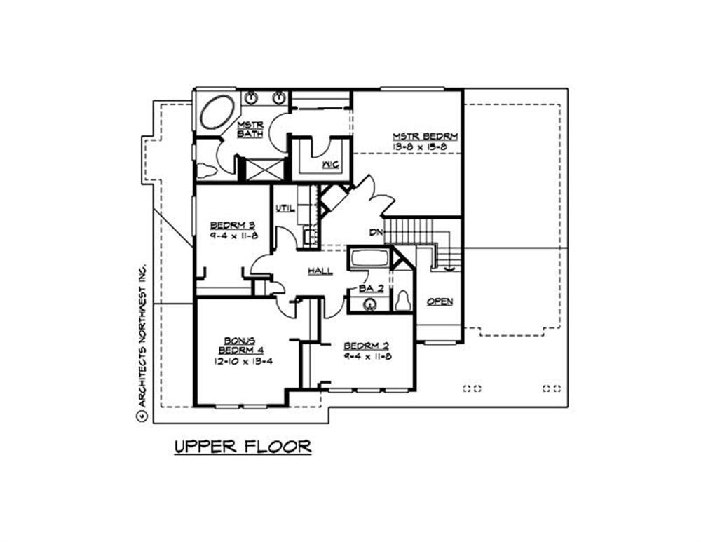 Large images for house plan 115 1385 for The house plan collection