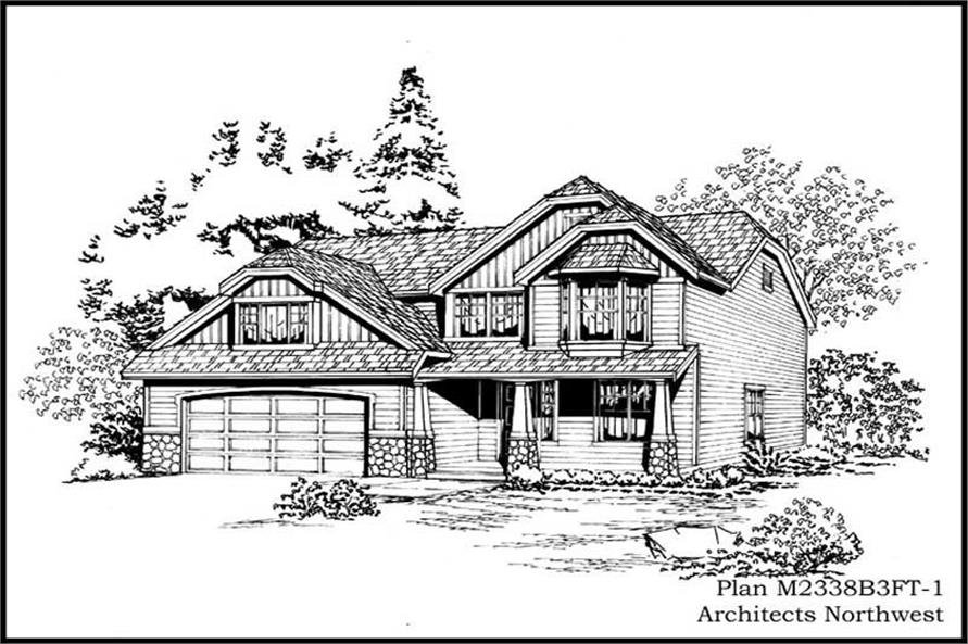 Main image for house plan # 14688