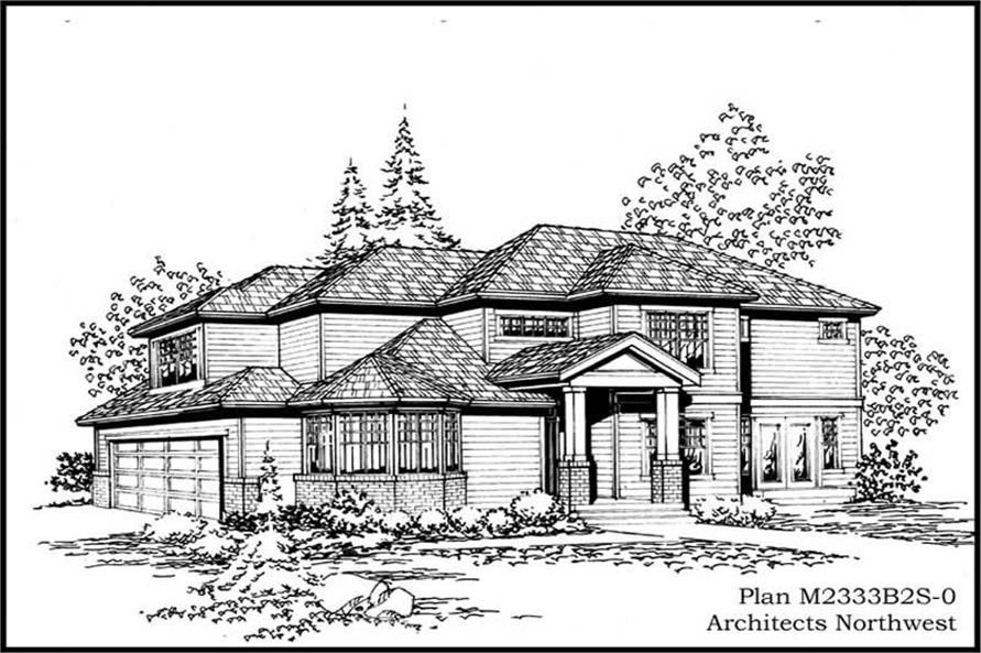 Main image for house plan # 14685