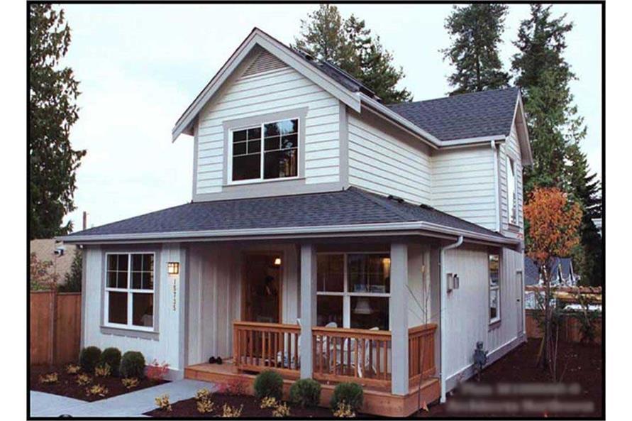 1-Bedroom, 1000 Sq Ft Coastal Home Plan - 115-1392 - Main Exterior