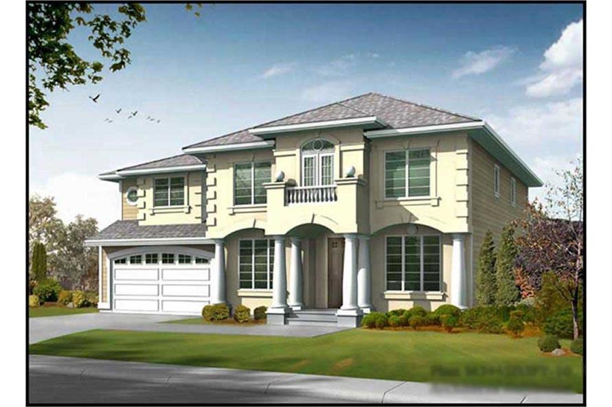 Main image for house plan # 9307