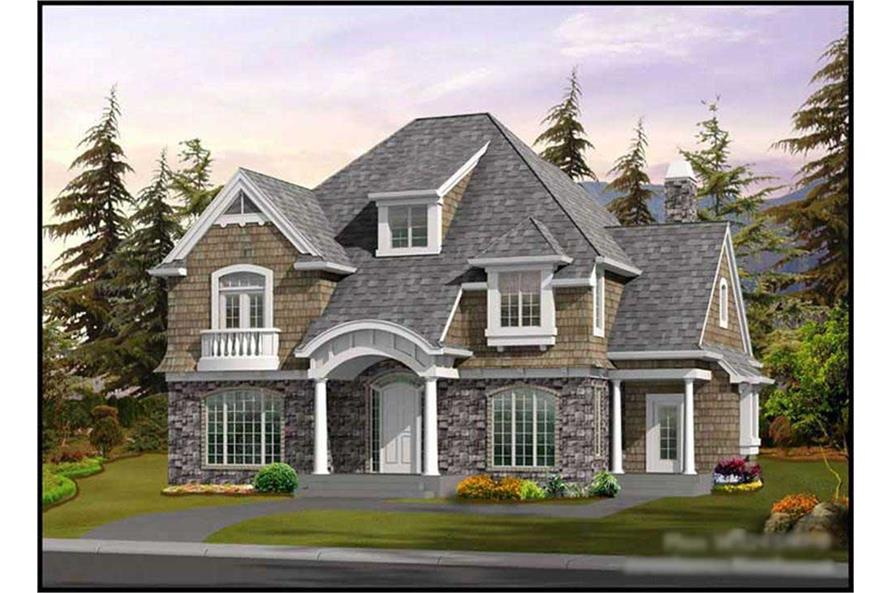 Main image for house plan # 9331