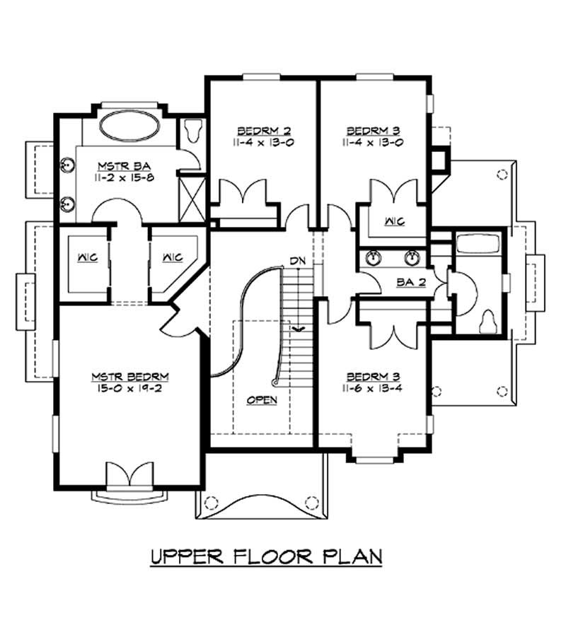 Historic House Plan