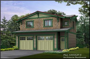 Main image for house plan # 14591