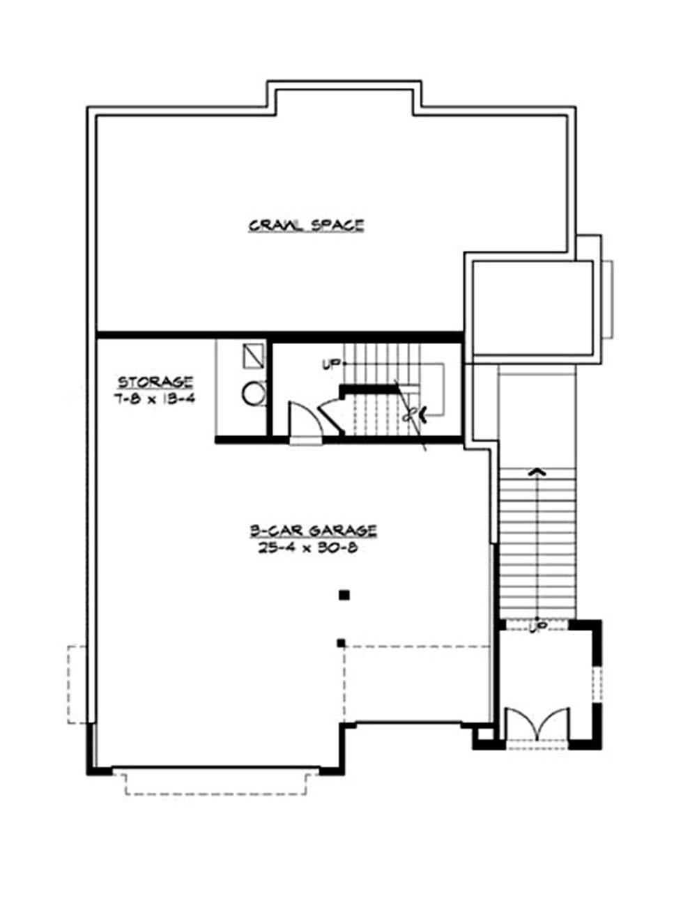 115-1413 lower floor plan