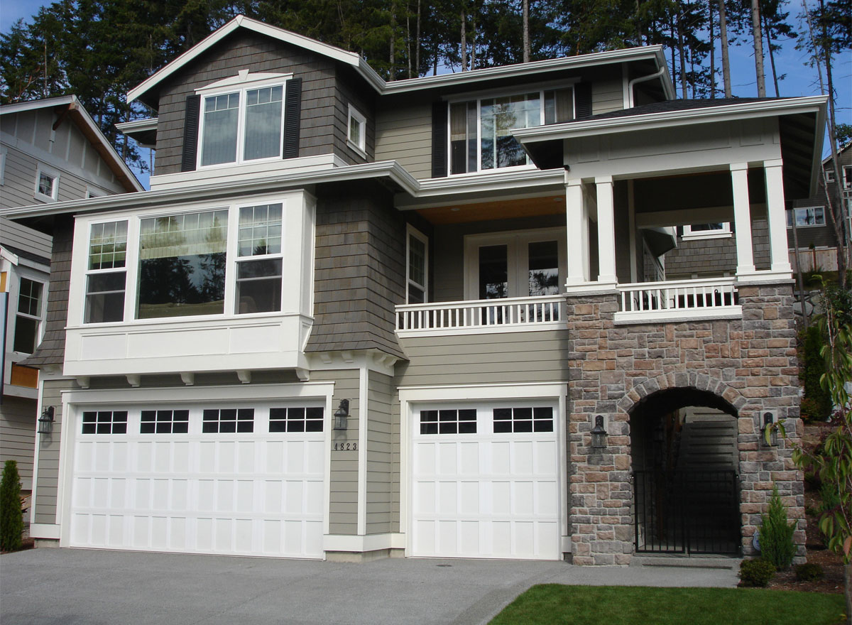 Craftsman Shingle Bungalow House Plans Home Design Cd