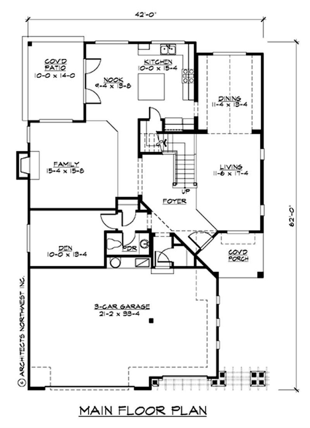 Large Images For House Plan 115 1416