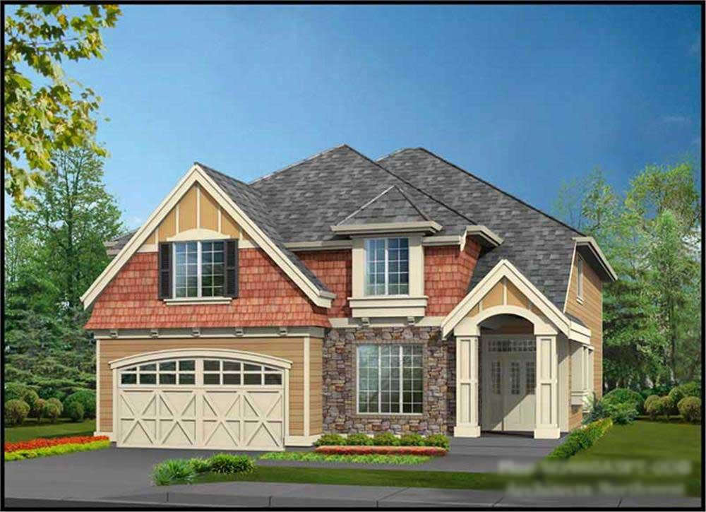 Main image for house plan # 14826