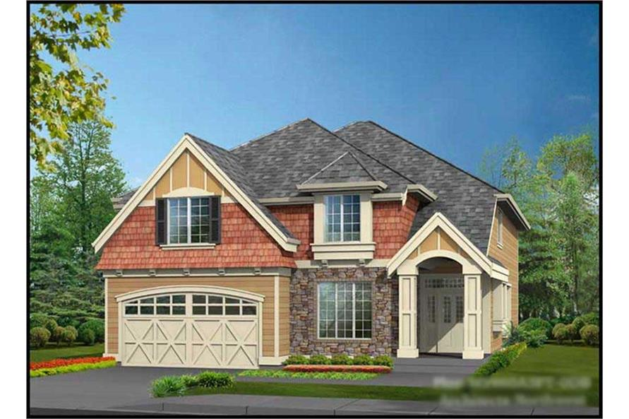 4-Bedroom, 4106 Sq Ft Ranch House Plan - 115-1419 - Front Exterior