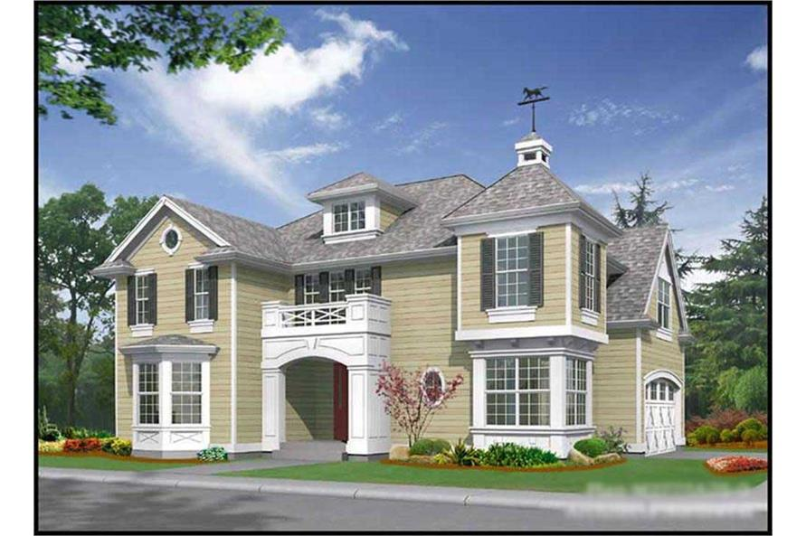 Main image for house plan # 9281