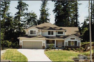 3-Bedroom, 2130 Sq Ft Craftsman House Plan - 115-1429 - Front Exterior
