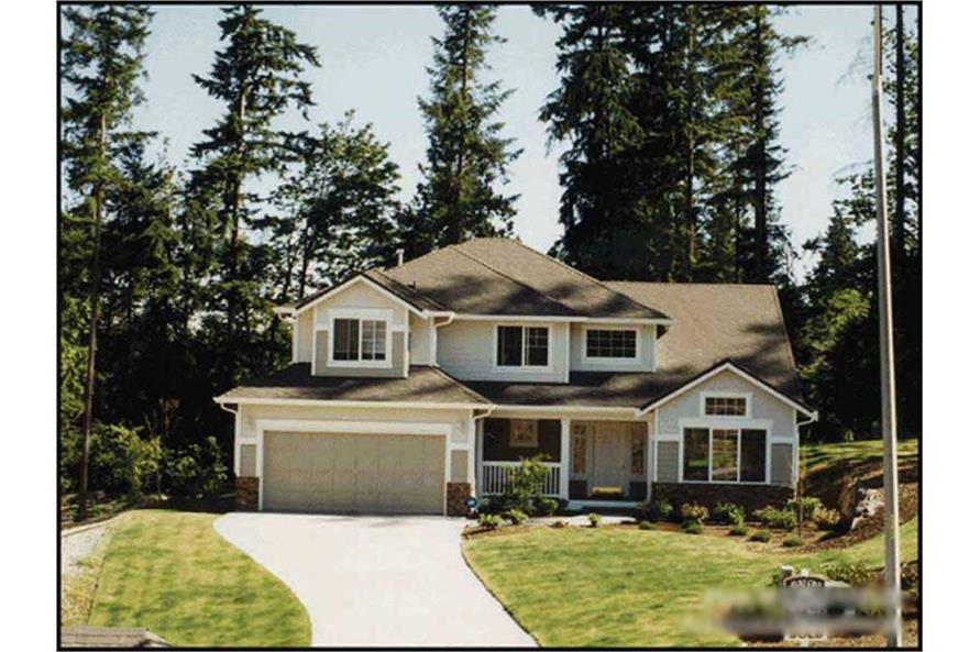 Main image for house plan # 9263