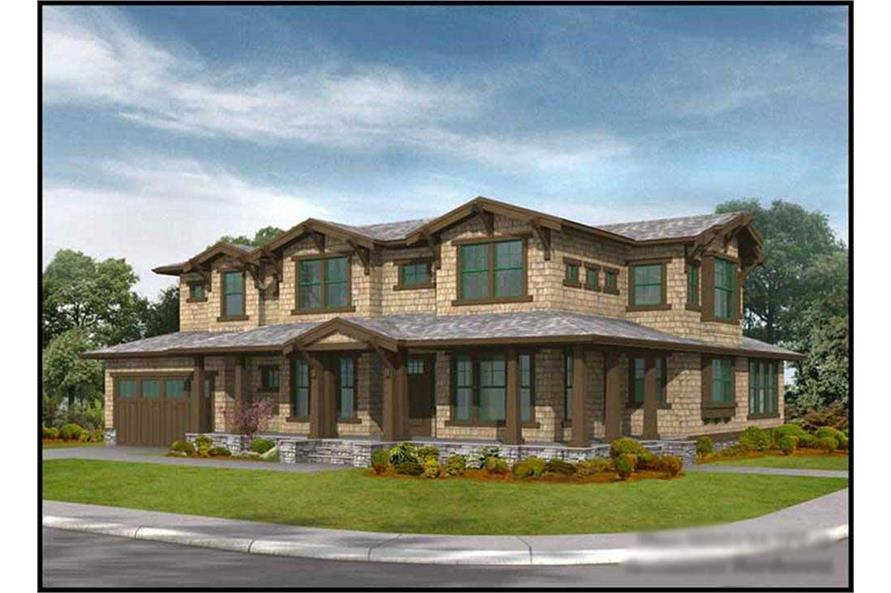 Main image for house plan # 9334