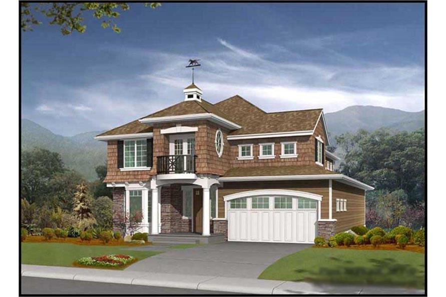 3-Bedroom, 2673 Sq Ft Cape Cod House Plan - 115-1433 - Front Exterior