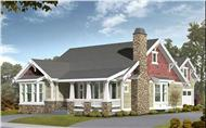 Main image for house plan # 9271
