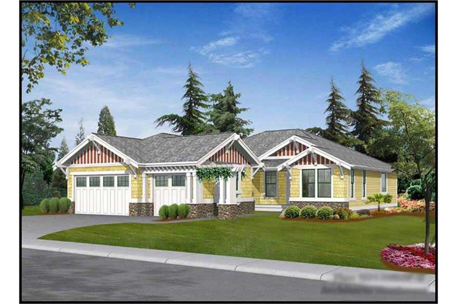Main image for house plan # 9257