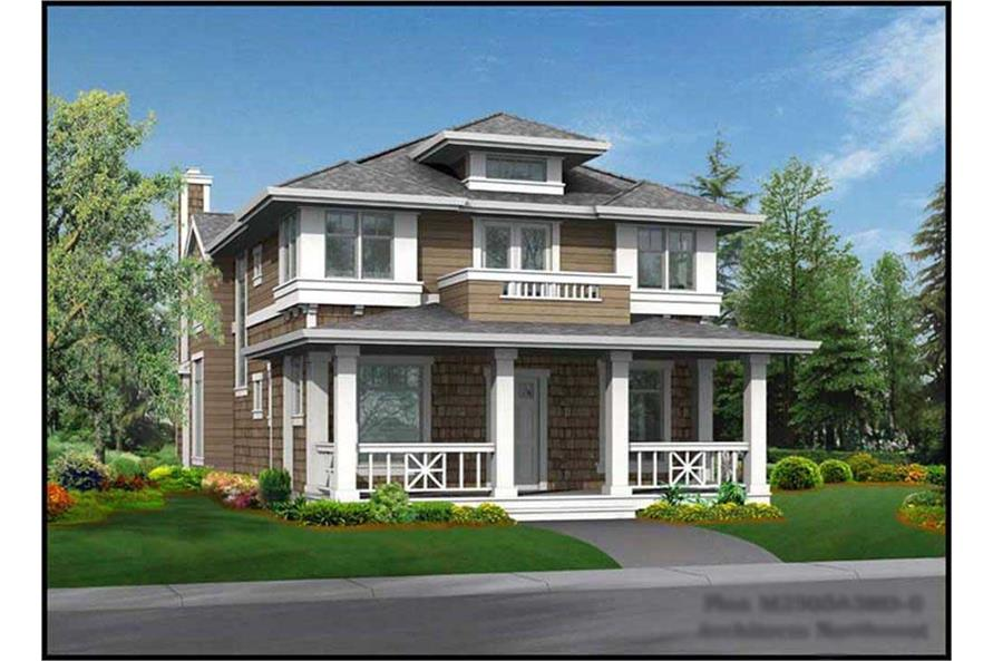 3-Bedroom, 2505 Sq Ft Craftsman House Plan - 115-1439 - Front Exterior