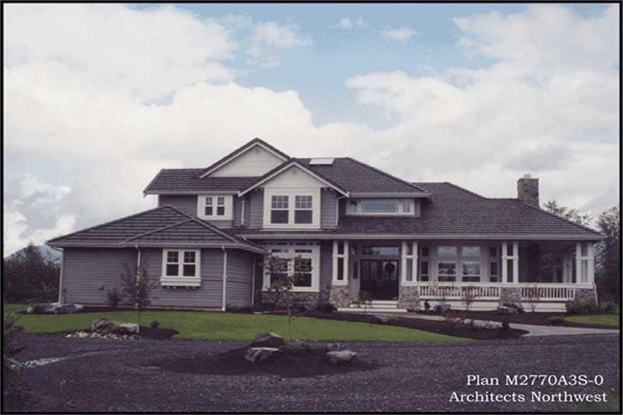 Exterior Photo of this 4-Bedroom,2770 Sq Ft Plan -2770