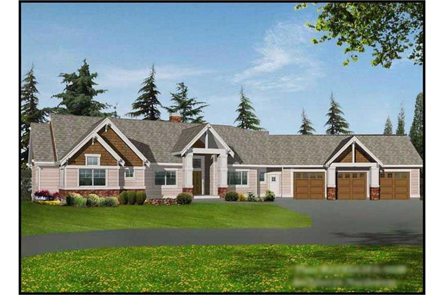 Main image for house plan # 9259