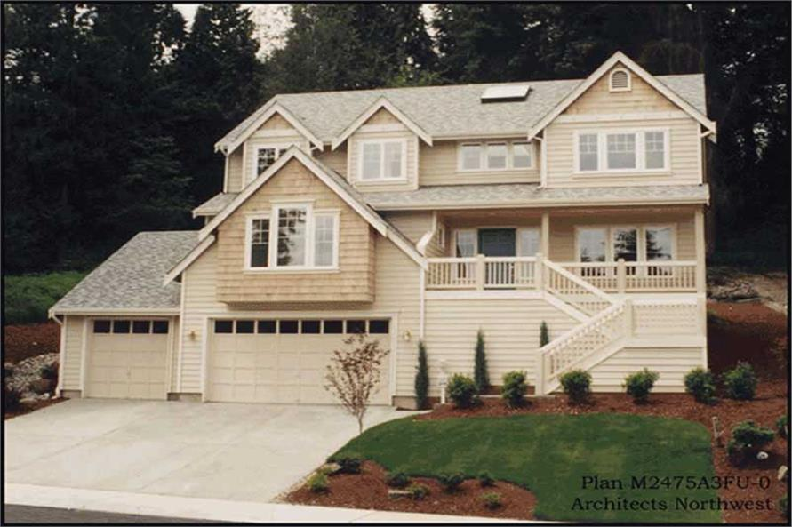 Main image for house plan # 14719