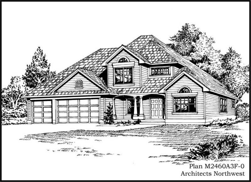 Main image for house plan # 14718
