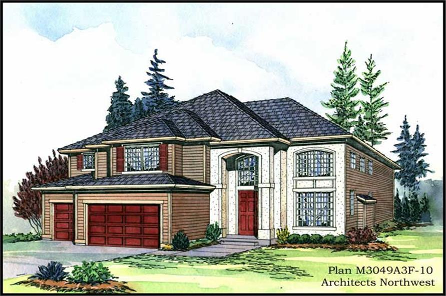 Main image for house plan # 9332