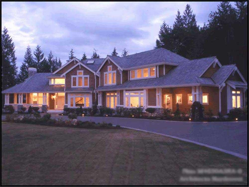 Main image for house plan # 9360