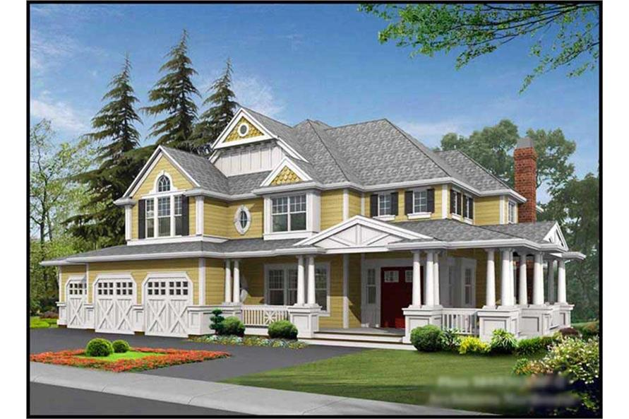 Main image for house plan # 9364