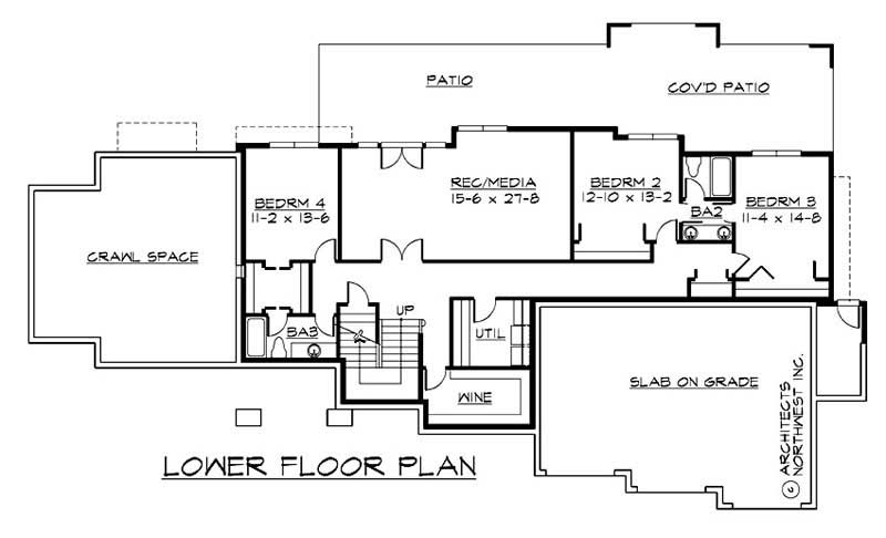 Floor Plan Lower Story