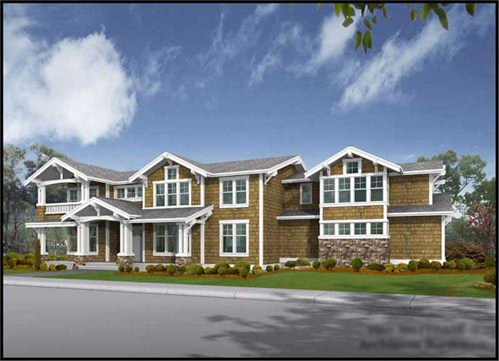 Main image for house plan # 9358