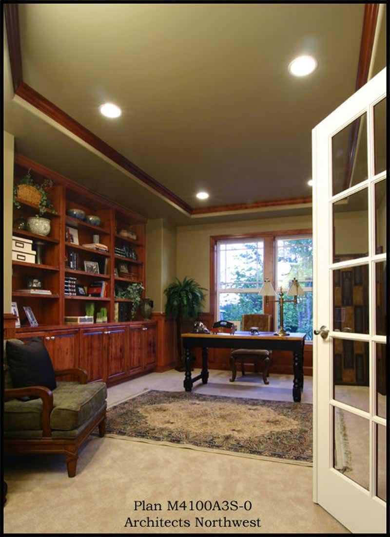 Craftsman Floor Plan 4 Bedrms 3 5 Baths 4100 Sq Ft 115 1465